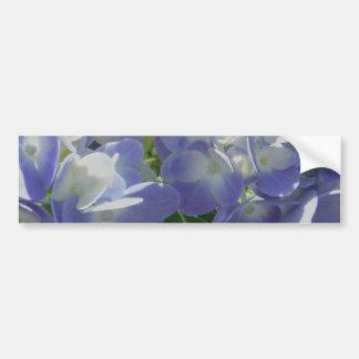 Purple Blue Hydrangea Bumper Sticker
