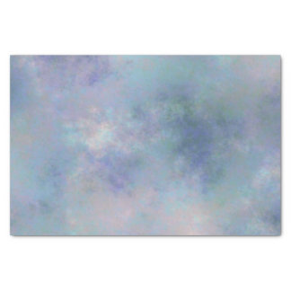 Purple Blue Misty Watercolor Background Tissue Paper