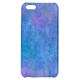Purple Blue Watercolor Texture Background iPhone 5C Case