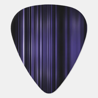 Purple blurred stripes pattern guitar pick