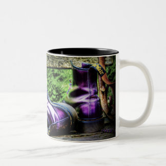 Purple Boots mug