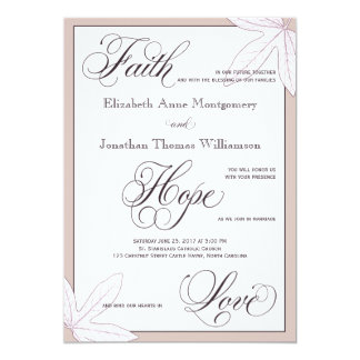 christian wedding invitations  announcements  zazzlecouk, invitation samples