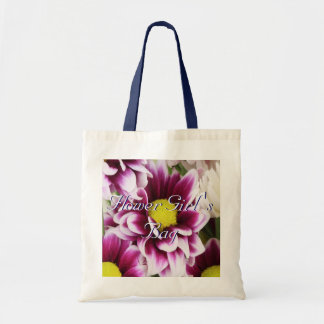 Purple Bouquet Flower Girl Budget Tote Bag