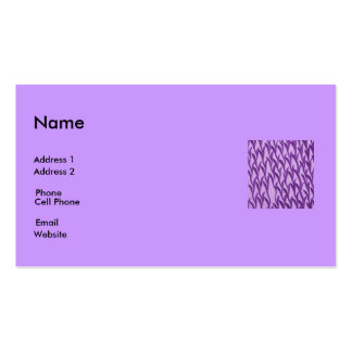 purple branches business card template