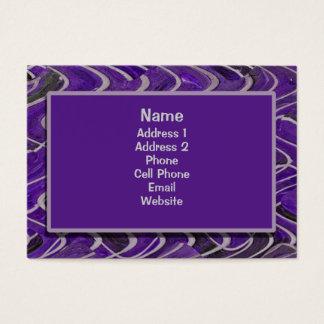 purple bricks business card