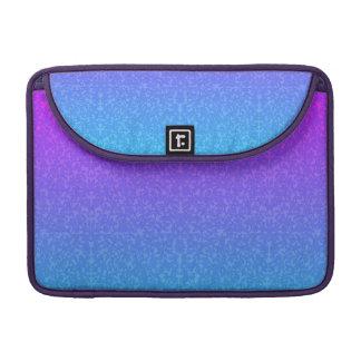 Purple Bridal Lace Rickshaw Flap Sleeve MacBook Pro Sleeve
