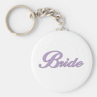 Purple Bride  Key Chains