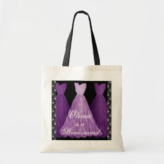Purple Bridesmaid Dress Bags