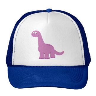 Purple Brontosaurus Dinosaur Trucker Hat