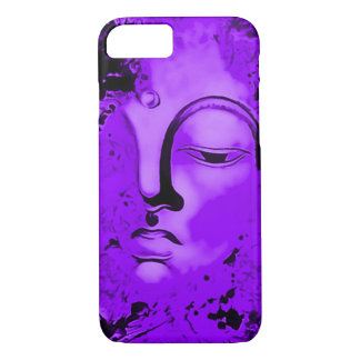 Purple Buddha Airbrush Art iPhone 7 Case