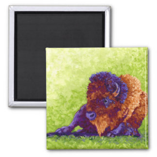 Purple Buffalo Magnet