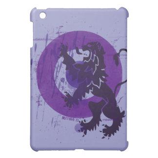 Purple Bullseye Lion iPad Case