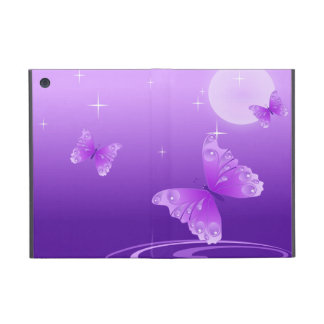 Purple Butterflies Cover For iPad Mini