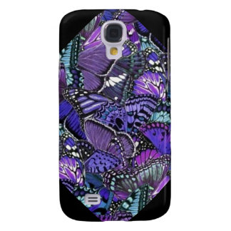 Purple Butterflies Galaxy S4 Case