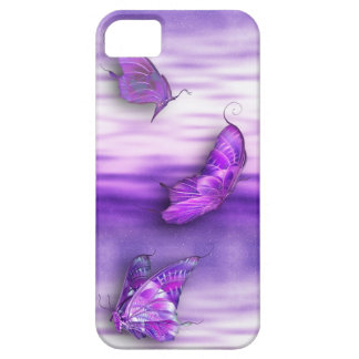Purple Butterflies iPhone4 Case For The iPhone 5