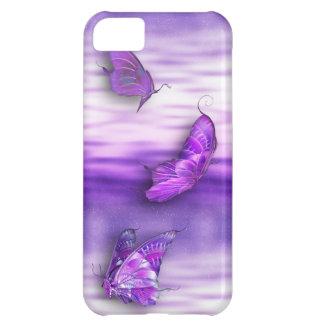 Purple Butterflies iPhone4 iPhone 5C Case