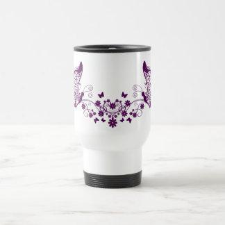 Purple Butterflies Mugs