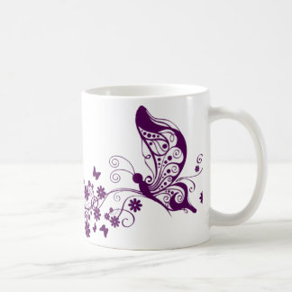 Purple Butterflies Mug