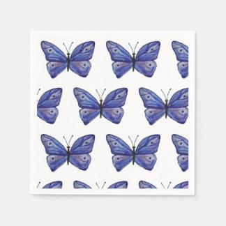 Purple butterflies  Napkins Paper Serviettes