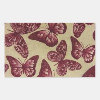 Purple Butterflies Stickers