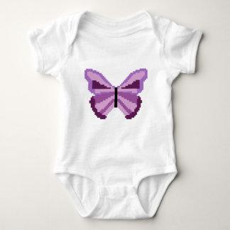 purple butterfly baby bodysuit