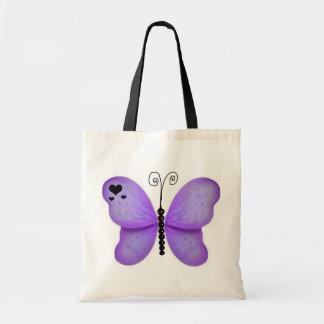 Purple Butterfly Bag