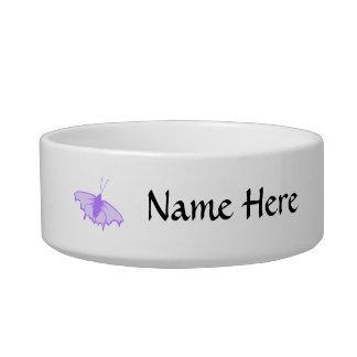 Purple Butterfly. Bowl