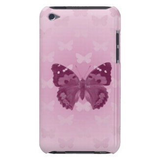 Purple Butterfly Barely There iPod Case