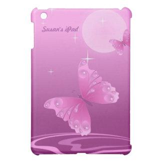 Purple Butterfly iPad Mini Case