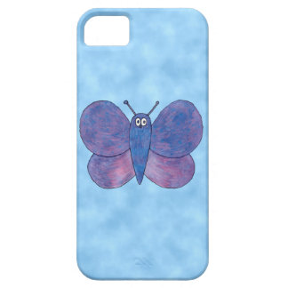 Purple Butterfly. iPhone 5 Cover