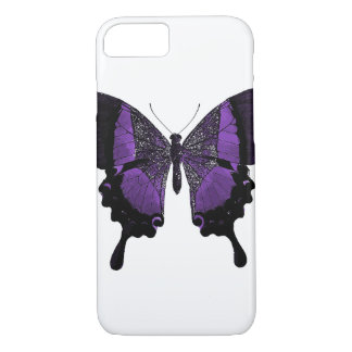 Purple Butterfly iPhone Case