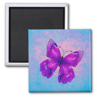 PURPLE BUTTERFLY ~ MAGNET
