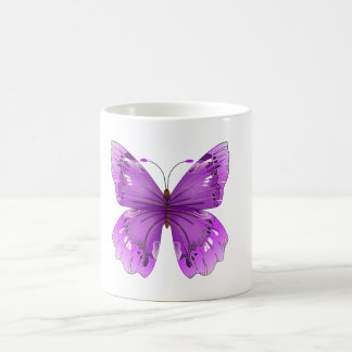 Purple Butterfly Mug