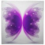 Purple Butterfly Napkins