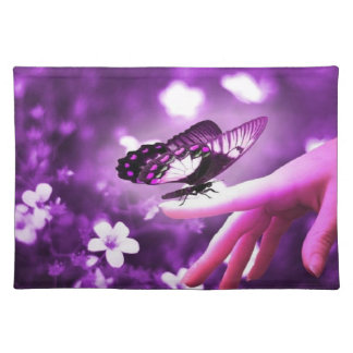 Purple Butterfly Placemat