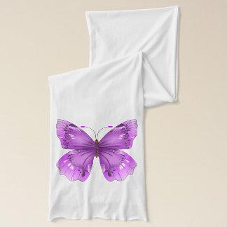 Purple Butterfly Scarf