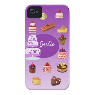 Purple Cake Iphone 4/4s case
