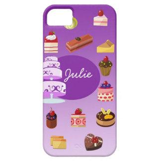 Purple Cake Iphone 5 case