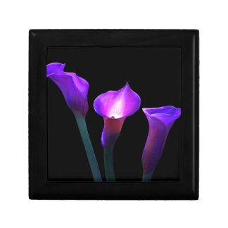 purple calla lily gift box