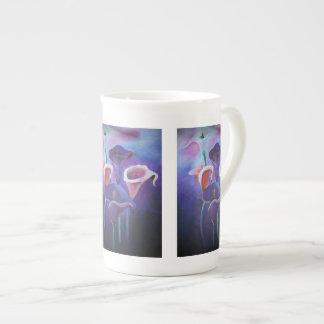 Purple Calla Tea Cup