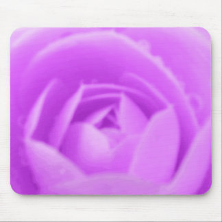 Purple Camellia Flower Mousepad