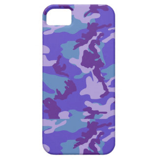 Purple Camo Barely There iPhone 5 Case