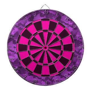 Purple Camo Dartboard