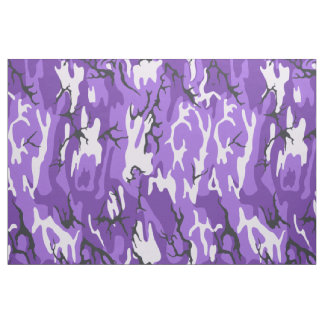 Purple Camo Fabric