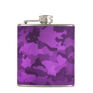 Purple Camo Flasks