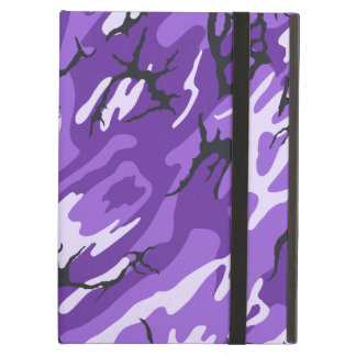 Purple Camo iPad Air Case