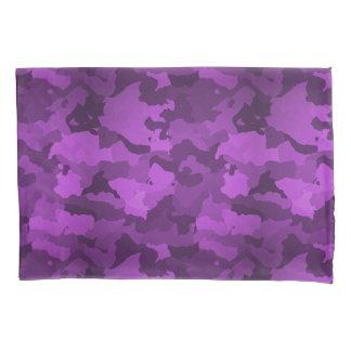 Purple Camo Pillowcase