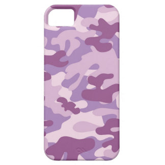 Purple Camo Print iPhone 5 Cases