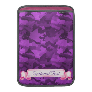 Purple Camo Sleeve For MacBook Air