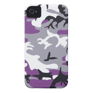 Purple Camouflage Barely There™ iPhone 4 Case